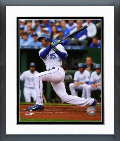 Kansas City Royals Alex Rios Action Framed Photo