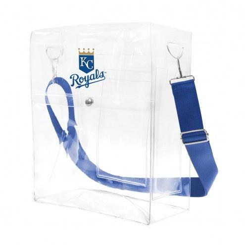 Kansas City Royals Clear Ticket Satchel