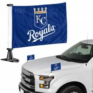 Kansas City Royals Ambassador Hood & Trunk Car Flag