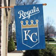 Kansas City Royals Applique 2-Sided Banner Flag