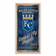 Kansas City Royals Watercolor Printed Canvas