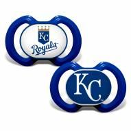 Kansas City Royals Baby Pacifier 2-Pack