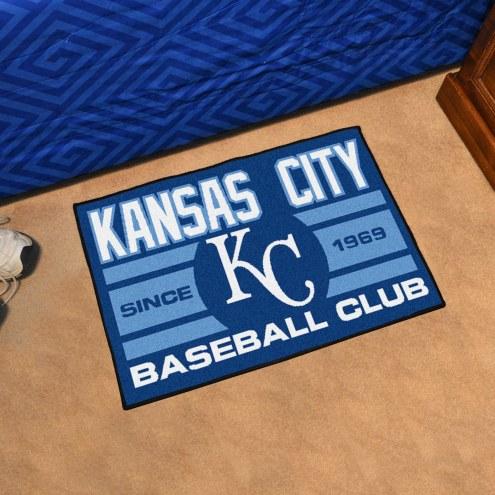 Kansas City Royals Baseball Club Starter Rug