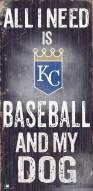 Kansas City Royals Baseball & My Dog Sign
