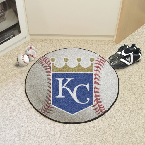 Kansas City Royals Baseball Rug