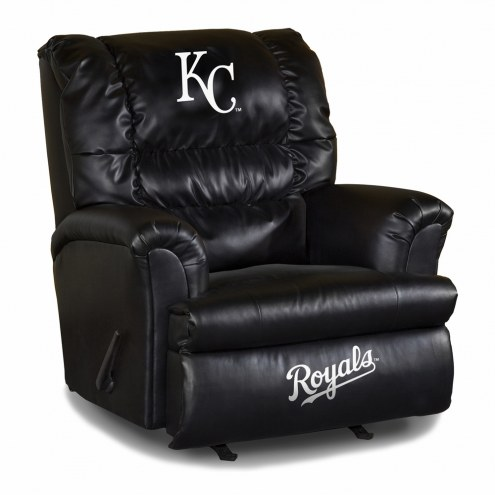 Kansas City Royals Big Daddy Leather Recliner