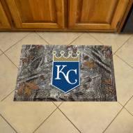 Kansas City Royals Camo Scraper Door Mat