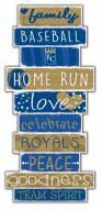 Kansas City Royals Celebrations Stack Sign