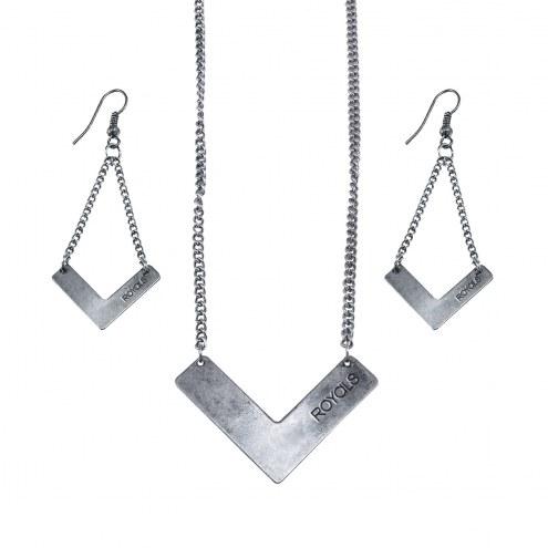Kansas City Royals Chevron Jewelry Set