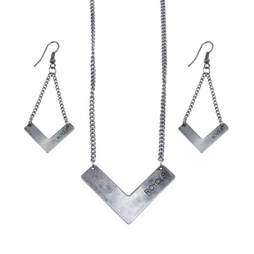 Kansas City Royals Chevron Jewelry Set