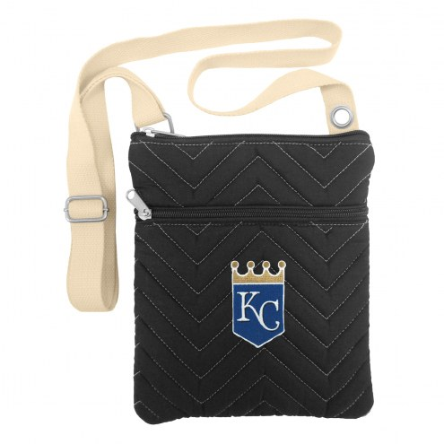 Kansas City Royals Chevron Stitch Crossbody Bag