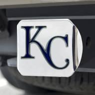 Kansas City Royals Chrome Color Hitch Cover