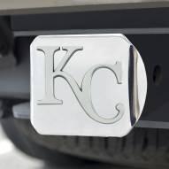 Kansas City Royals Chrome Metal Hitch Cover