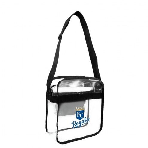 Kansas City Royals Clear Crossbody Carry-All Bag