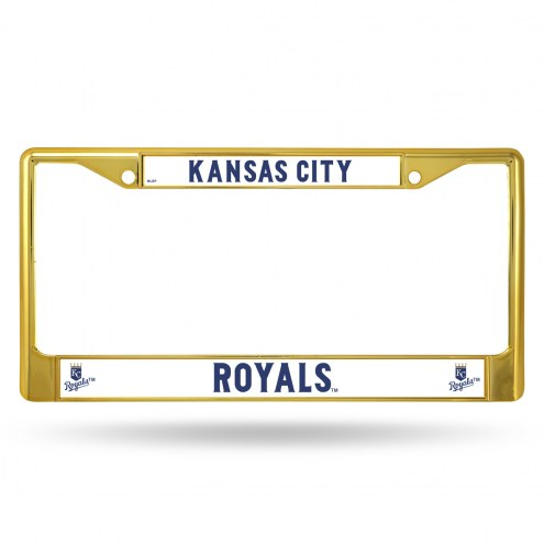 Kansas City Royals Colored Chrome License Plate Frame