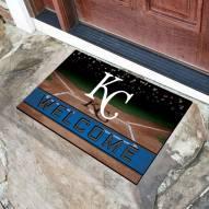 Kansas City Royals Crumb Rubber Door Mat
