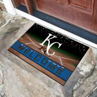 Kansas City Royals Crumb Rubber Door Mat