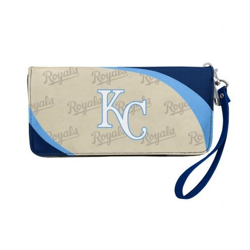 Kansas City Royals Curve Zip Organizer Wallet