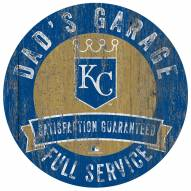 Kansas City Royals Dad's Garage Sign