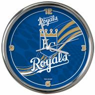 Kansas City Royals Dynamic Chrome Clock