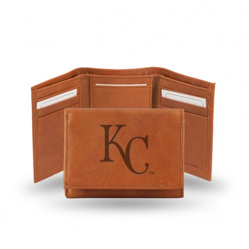 Kansas City Royals Embossed Tri-Fold Wallet