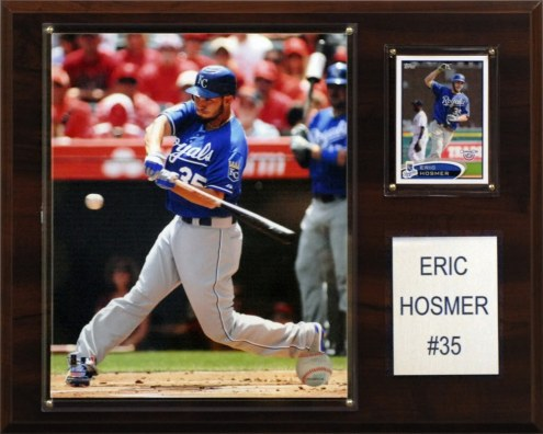 "Kansas City Royals Eric Hosmer 12"" x 15"" Player Plaque"