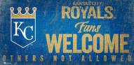 Kansas City Royals Fans Welcome Sign