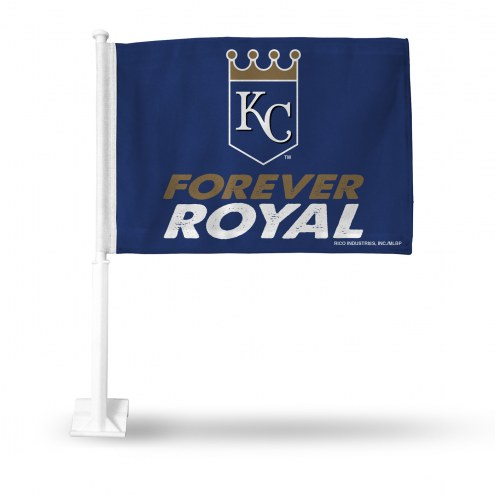Kansas City Royals Forever Royal Car Flag