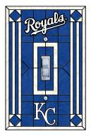 Kansas City Royals Glass Single Light Switch Plate Cover