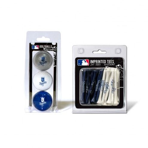 Kansas City Royals Golf Ball & Tee Pack