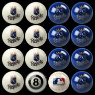 Kansas City Royals MLB Home vs. Away Pool Ball Set