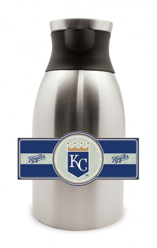Kansas City Royals Large Stainless Steel Coffee Pot