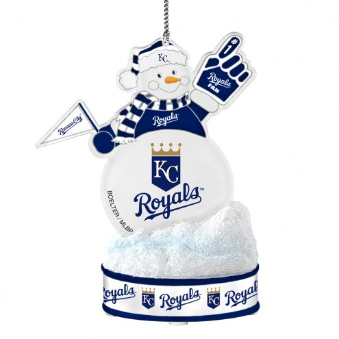 Kansas City Royals LED Snowman Ornament