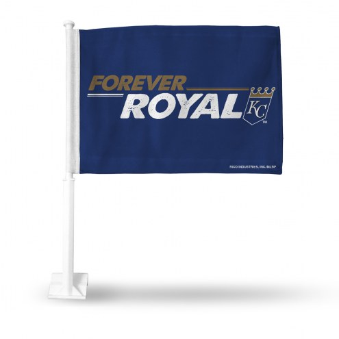 Kansas City Royals Logo Car Flag