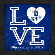 Kansas City Royals Love My Team Color Wall Decor