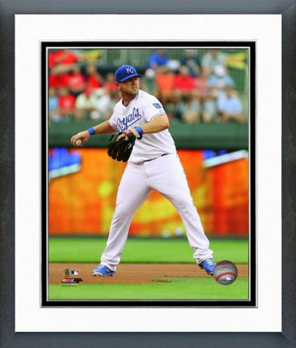 Kansas City Royals Mike Moustakas Action Framed Photo