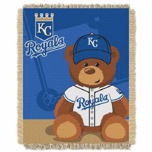 Kansas City Royals MLB Baby Blanket