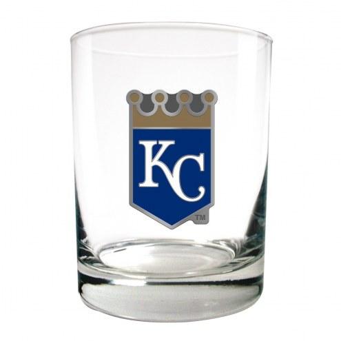Kansas City Royals MLB 2-Piece 14 Oz. Rocks Glass Set