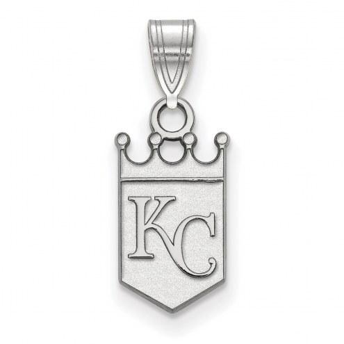 Kansas City Royals Sterling Silver Small Pendant