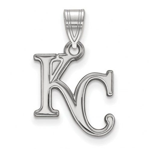 Kansas City Royals Sterling Silver Medium Pendant