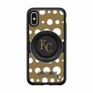 Kansas City Royals OtterBox Symmetry Polka Dot PopSocket iPhone Case