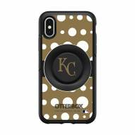 Kansas City Royals OtterBox Symmetry Polka Dot PopSocket iPhone Case