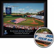 Kansas City Royals 11 x 14 Personalized Framed Stadium Print