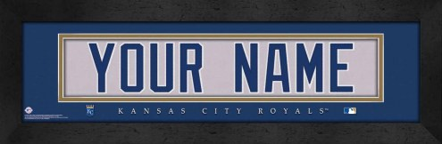 Kansas City Royals Personalized Stitched Jersey Print