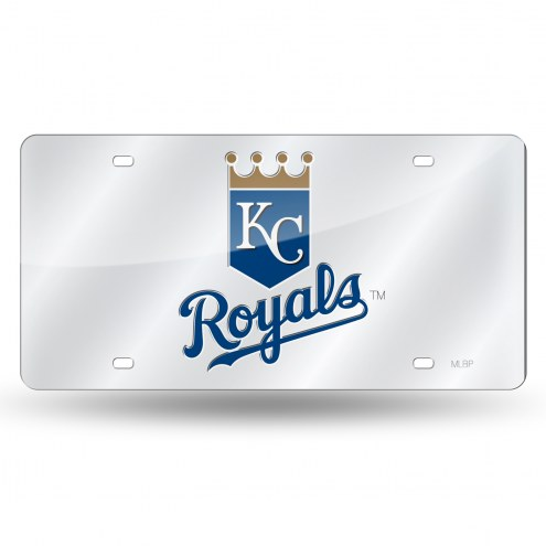 Kansas City Royals Laser Cut License Plate