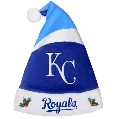 Kansas City Royals Santa Hat