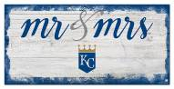 Kansas City Royals Script Mr. & Mrs. Sign