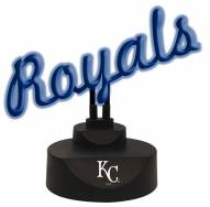 Kansas City Royals Script Neon Desk Lamp