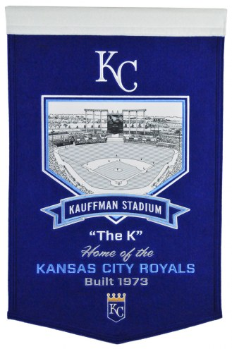 Kansas City Royals Stadium Banner