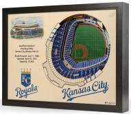 Kansas City Royals 25-Layer StadiumViews 3D Wall Art